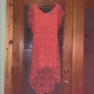 Pink flowy summer dress size L